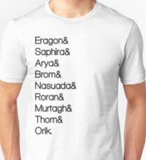 Character List Eragon Unisex T-Shirt