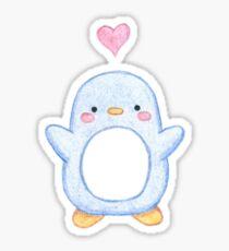 Sweet Little Penguin  Sticker