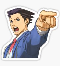 Phoenix Wright - Ace Attorney Sticker