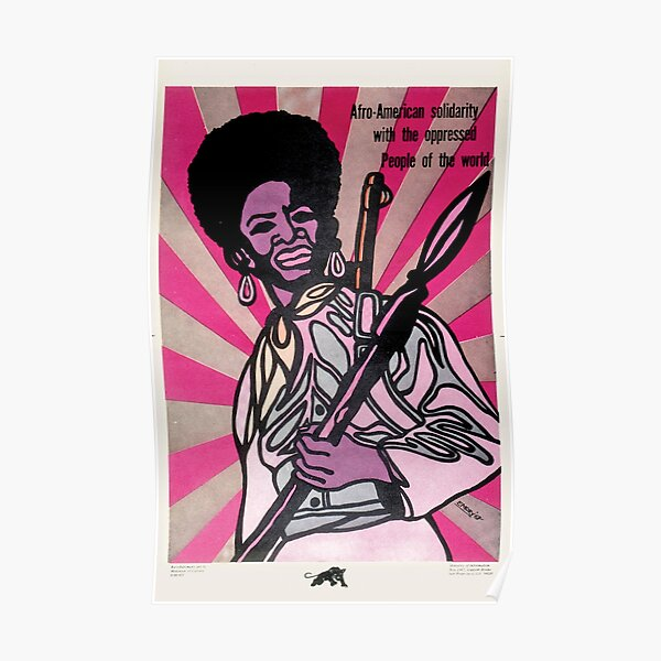 Black Panther Party Art Poster