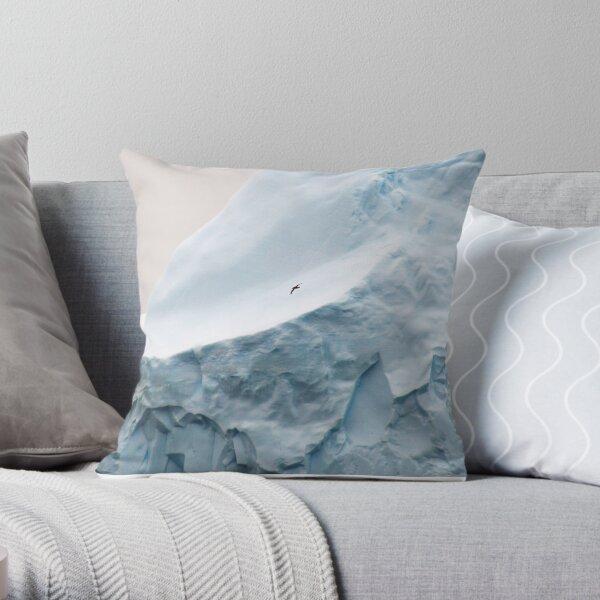 Wildlife and ice Throw Pillow