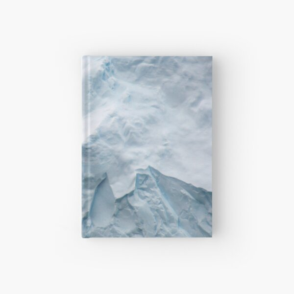 Wildlife and ice Hardcover Journal