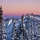 Hurricane ridge Sunset by LizzieMorrison