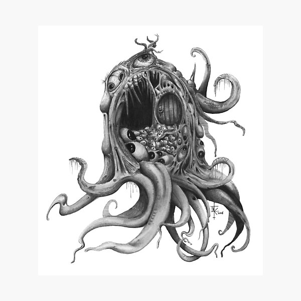 The Mouth of R'lyeh Photographic Print