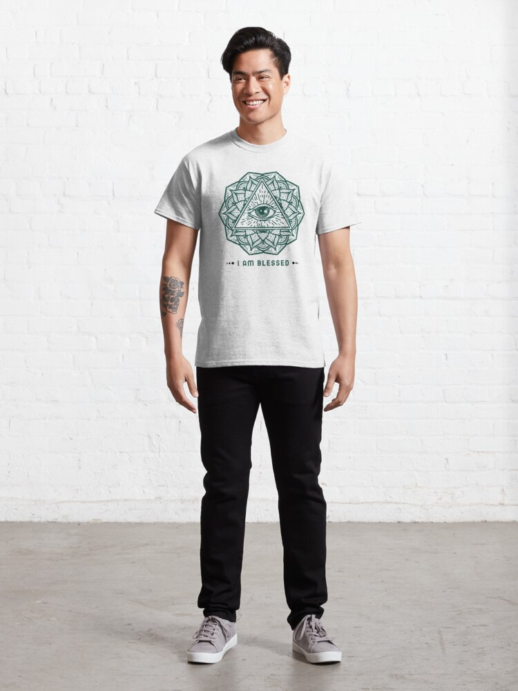 Alternate view of I am blessed Classic T-Shirt