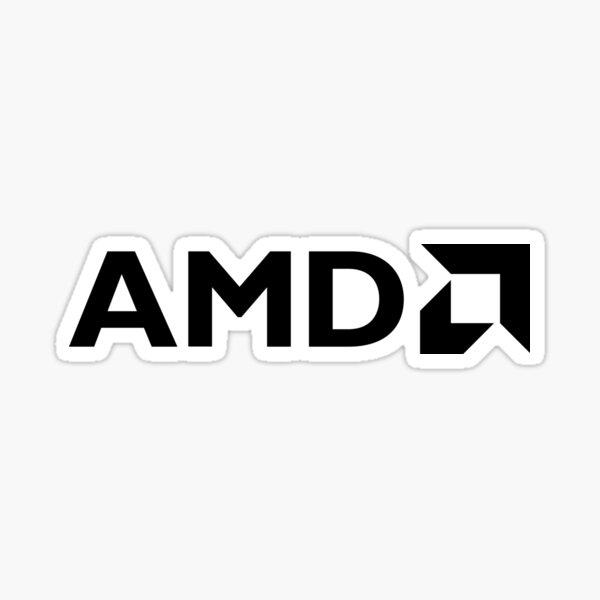 AMD Pegatina