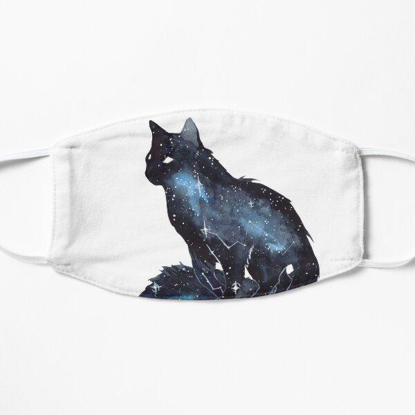 Galaxy Cat Flat Mask