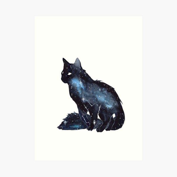 Galaxy Cat Impression artistique