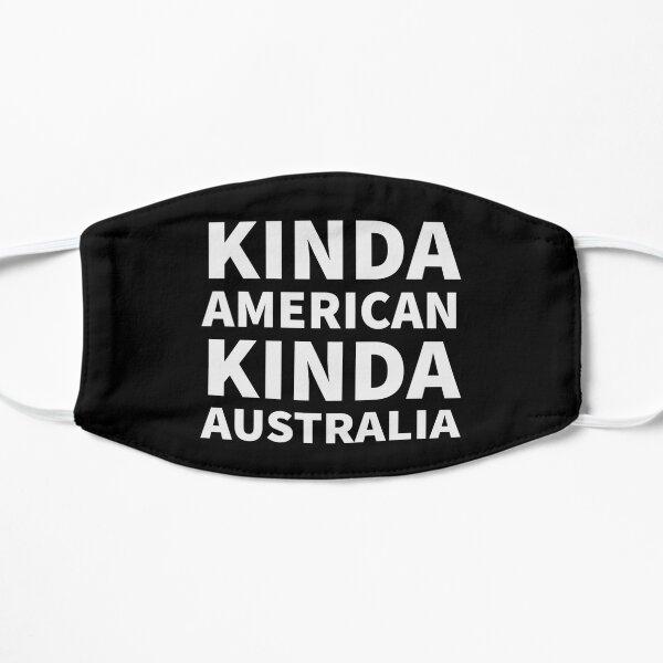 Vintage Kinda America Kinda Australia Flat Mask
