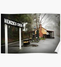 Menzies Creek Poster