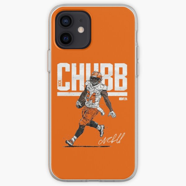 Nick Chubb for Cleveland Browns fans iPhone Soft Case