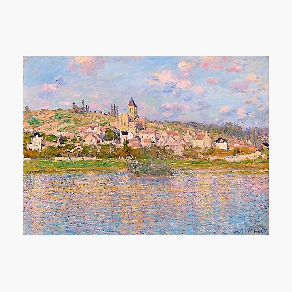 1879-Claude Monet-Vetheuil-60x81 Photographic Print