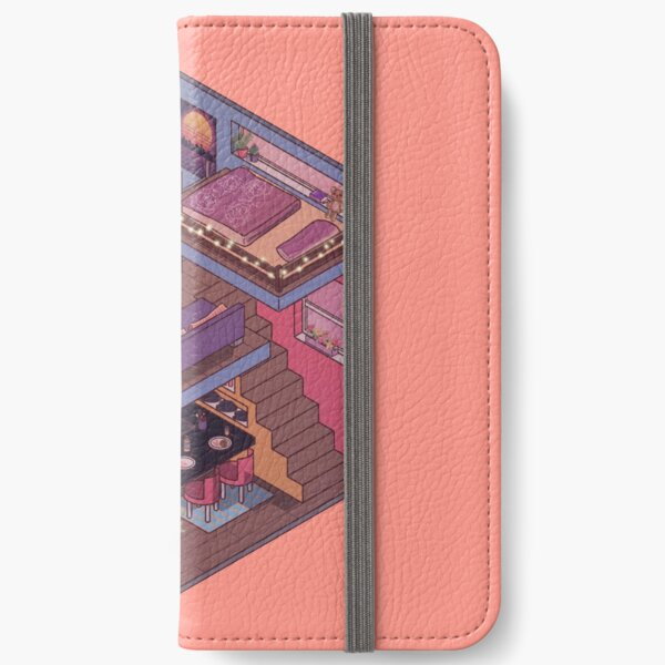 Small Apartment with Cute Kitchen Corner iPhone Wallet