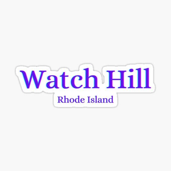 Watch Hill Rhode Island Sticker