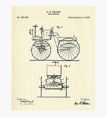 Road Engine-1895 Photographic Print