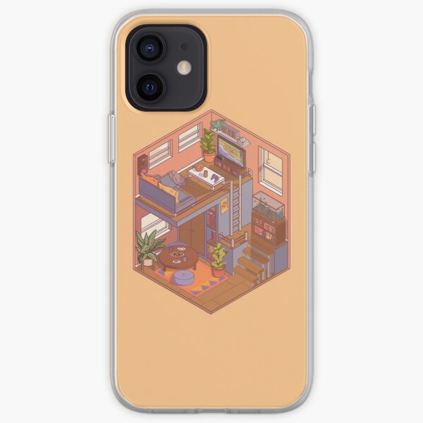 Small Isometric Apartment iPhone Soft Case