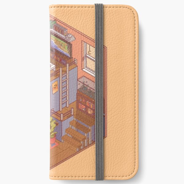 Small Isometric Apartment iPhone Wallet