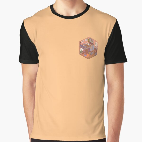 Small Isometric Apartment Graphic T-Shirt