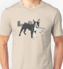Attack of the Colossal Boston Terrier!!! Unisex T-Shirt