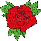 Rose tattoo - red by rockem