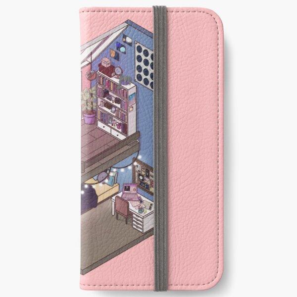 Stargazing Isometric Room iPhone Wallet