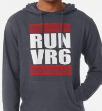 RUN VR6 tread Lightweight Hoodie
