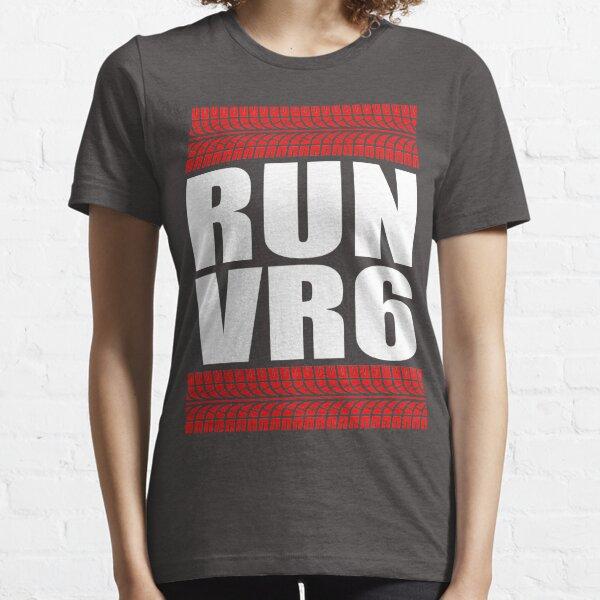 RUN VR6 pisada Camiseta esencial
