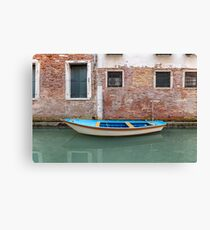 Venice Transportation Canvas Print