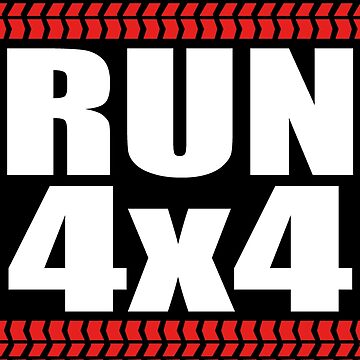 RUN 4x4 tread by hoddynoddy