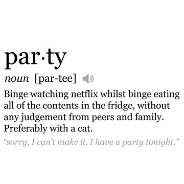 Party Definition by TwoLosers