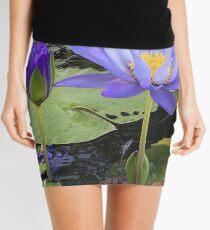 """Water Lillies"" Mini Skirt"