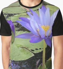 """Water Lillies"" Graphic T-Shirt"