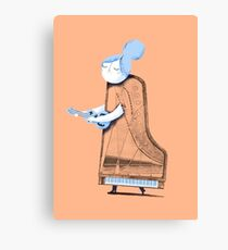 Lady in G Major Canvas Print