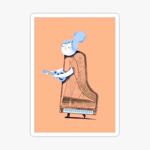 Lady in G Major Sticker