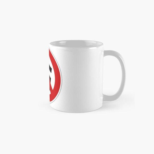 Anti-nazi for life. Classic Mug
