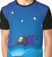 pirate ship Graphic T-Shirt
