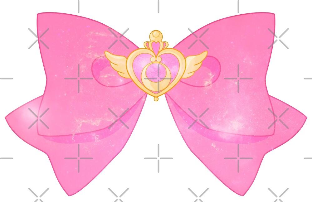 Galaxy Special Sailor Moon Crisis Moon Compact and Bow by Anzadesu