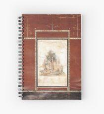 Souvenir from Naples - Boscotrecase's fresco Spiral Notebook