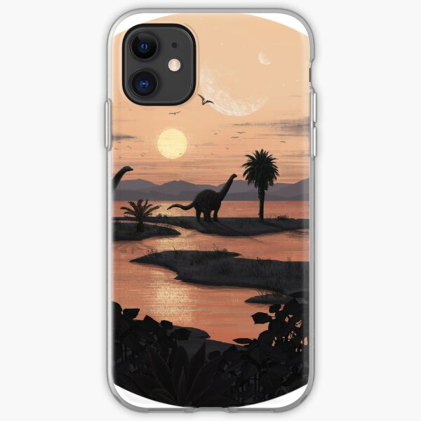 Jurassic Beach iPhone Soft Case