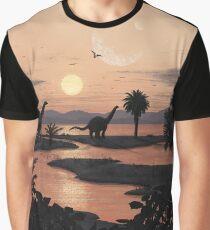 Jurassic Beach Graphic T-Shirt