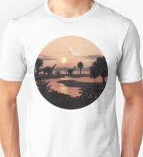 Jurassic Beach Unisex T-Shirt