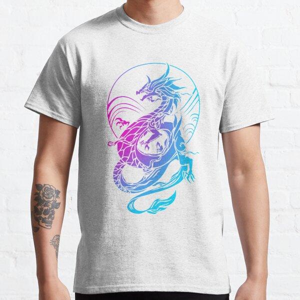 Dragón colorido Camiseta clásica