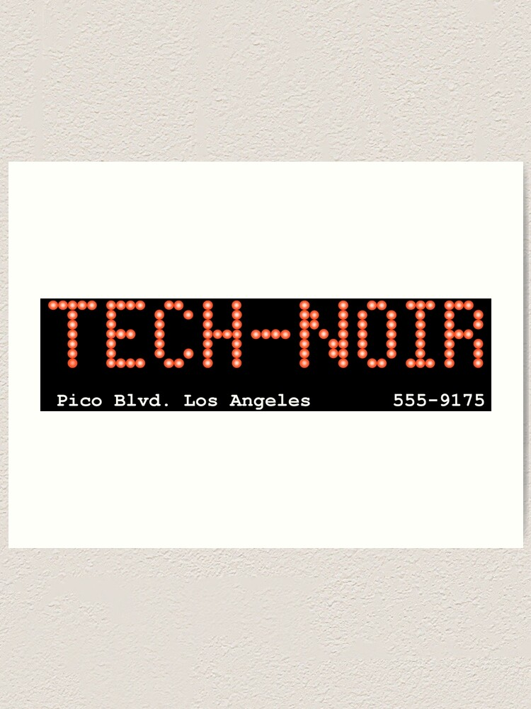 TECH NOIR NIGHTCLUB INSPIRED iphone case