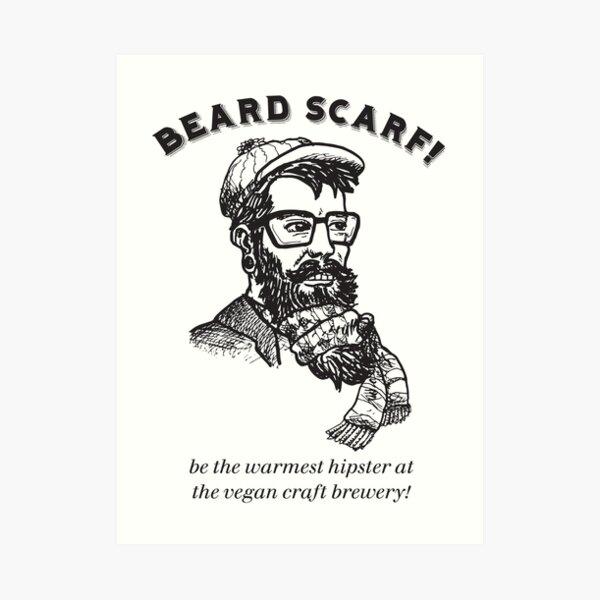 Beardscarf Art Print