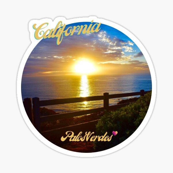 Palos Verdes California Photography By Concetta Ellis Sticker
