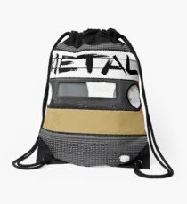 Heavy metal Music band logo Drawstring Bag