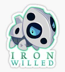 Iron Willed! - Pokemon - Aron ! Sticker