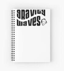 Gravity Waves says Albert Spiral Notebook