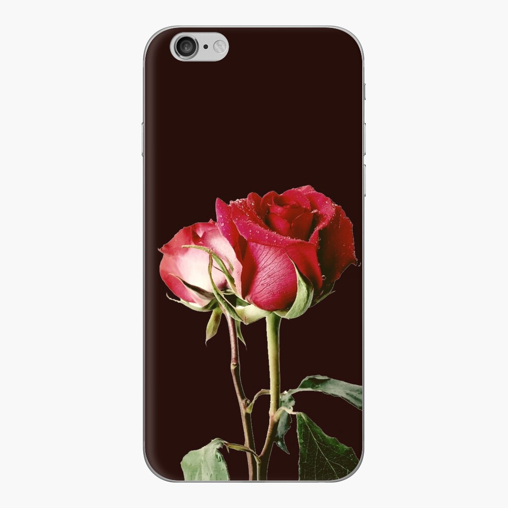 Wrongdoing Magazine Real Rose Collection iPhone Skin