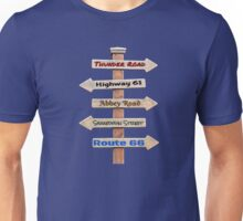 The Streets of Rock and Roll Unisex T-Shirt